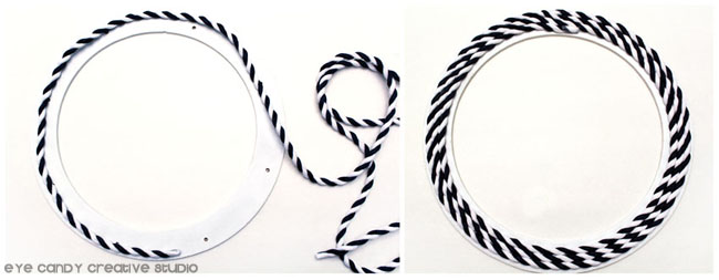 nautical rope, navy & white tope, welcome wreath, summer wreath