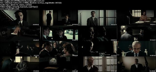 J Edgar DVDRip Descargar Español latino 1 Link 2011