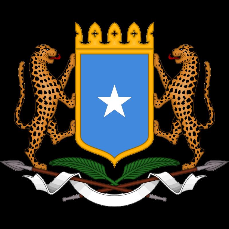 Logo Gambar Lambang Simbol Negara Somalia PNG JPG ukuran 800 px