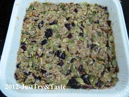 Resep Granola Bars: The power of food!