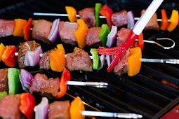 Grilled Steak Kebabs #healthyfood #dietketo