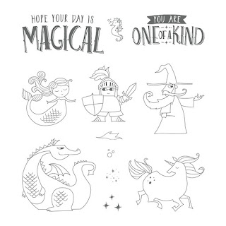 Here is the Magical Day Stamp Set from Stampin' Up!