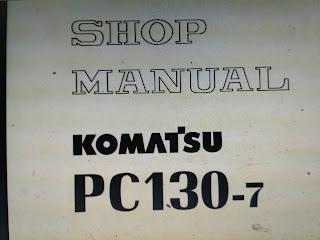 Excavator komatsu PC130-7