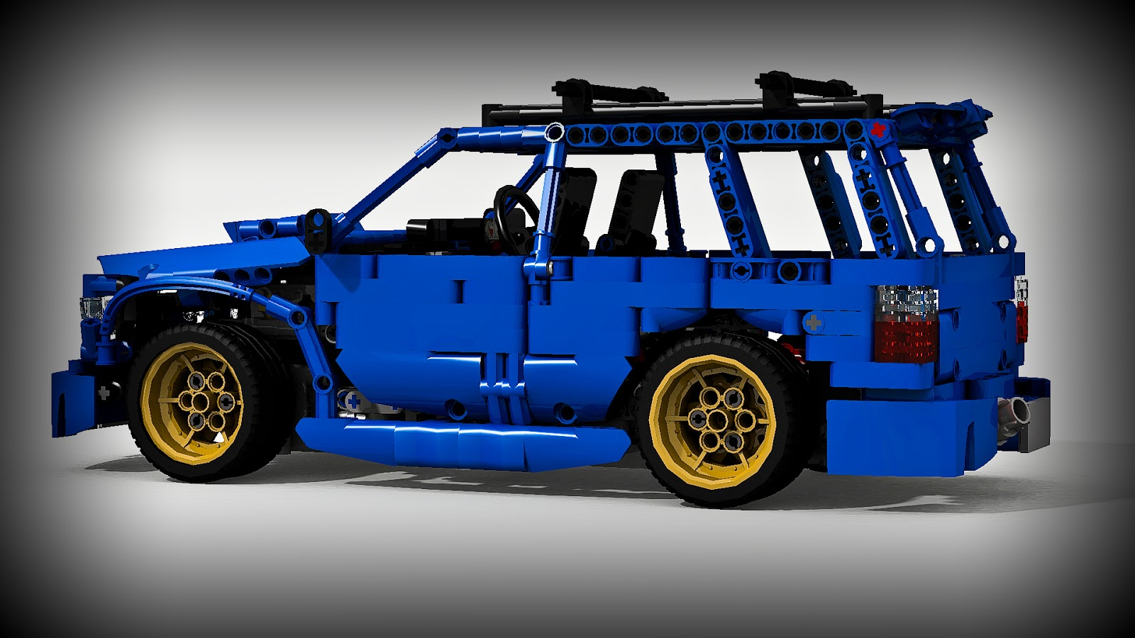 filsawgood Lego Technic Creations                               2015 Lego Technic Subaru Forester