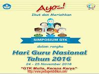 Guru!! Persiapkan diri Anda, inilah Syarat dan Ketentuan Simposium Guru dan Tenaga Kependidikan Tahun 2016