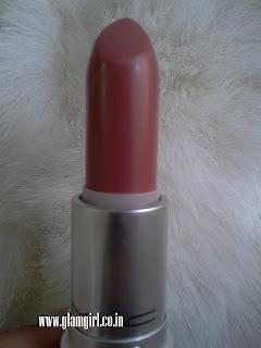 MAC satin lipstick a22 twig