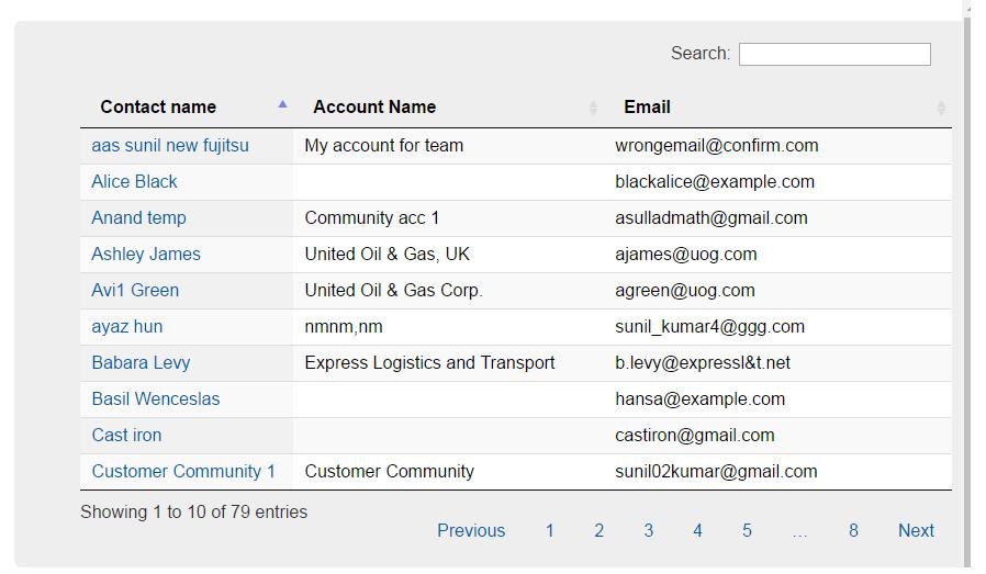 Salesforce Stuff: Generic Dynamic & Responsive Datatable