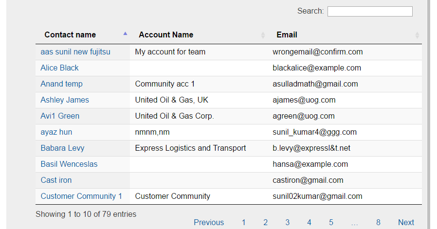 Salesforce Stuff: Generic Dynamic & Responsive Datatable Lightning