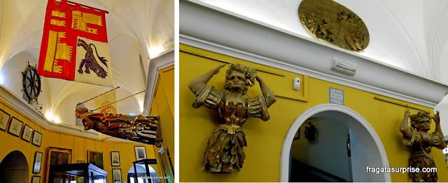 Sevilha, Andaluzia: Museu Naval da Torre do Ouro