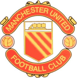 Logo club Manchester United tahun 1960-an sampai tahun 1973