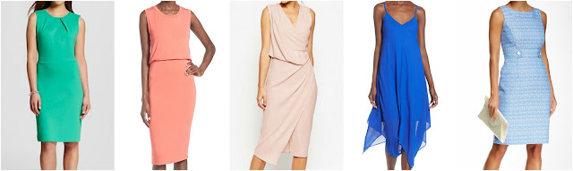 Merona | Leith | ASOS | Sequin Hearts | Tahari what to wear to a wedding, dress