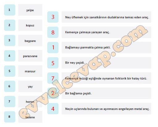 2018 2019 5 Sınıf Türkçe Meb Yayınları Ders Kitabı Cevapları Sayfa