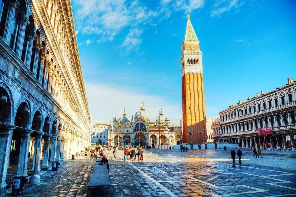 Turismo en Venecia - Plaza de San Marcos