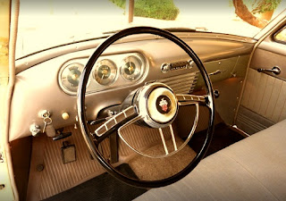 1951 Packard 300 Classic Sedan Steering Wheel