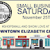 Small Business Saturday Nov 25th
