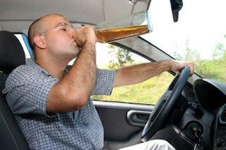 Lái ô tô uống rượu bia là chết