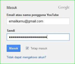 cara memasukkan video ke youtube