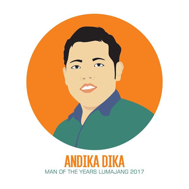 Flat Avatar Andika Dika
