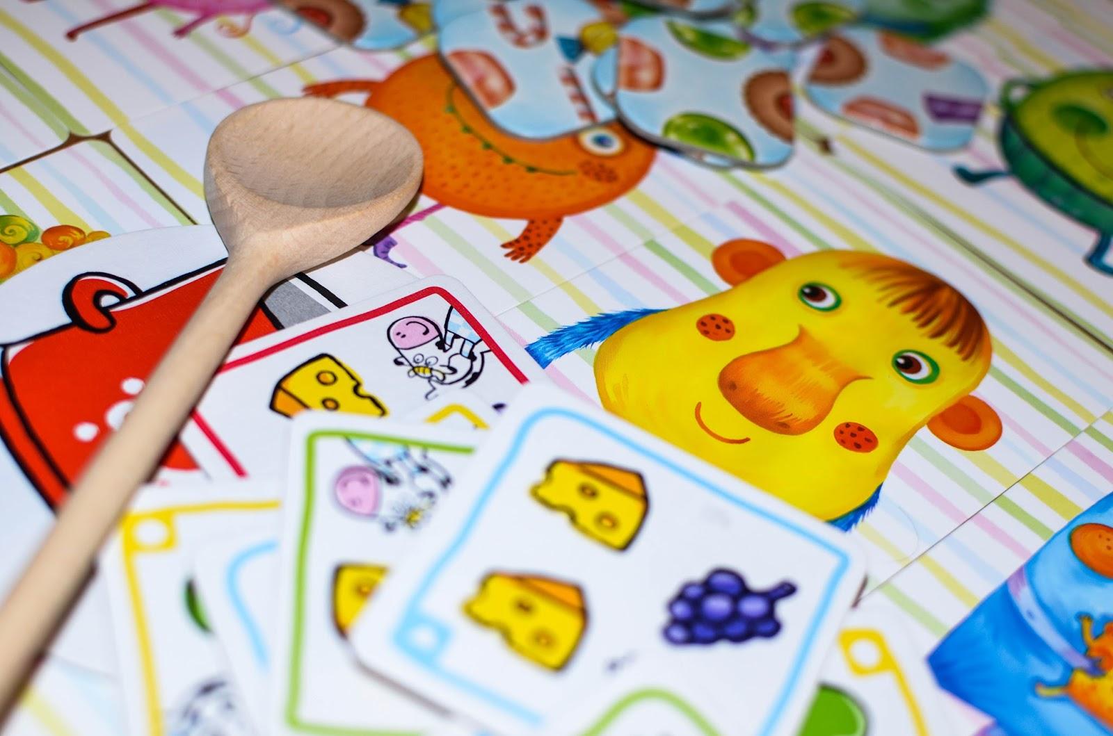 gry planszowe, gry 5+, gry od 5, Granna, Nasza Księgarnia, gry dla pięciolatka,