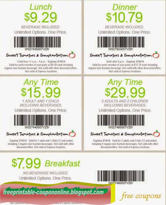 Google printable coupons