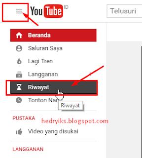 Cara Menghapus Riwayat Video yang Ditonton di Youtube