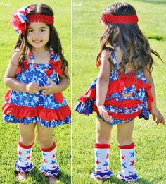 4th of July Outfits For Baby Girl