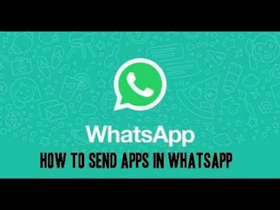 How to send apk files on whatsapp