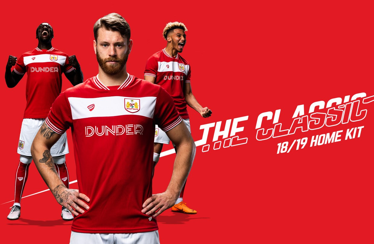 Bristol City this morning revealed their new home kit following yesterday s  away kit debut. The Bristol City 2018-2019 home and away jerseys has been  again ... 5c6e15a53