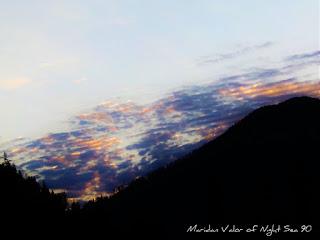 Streaked sunrise over Idaho mountains #Idahome #Idaho #mountains