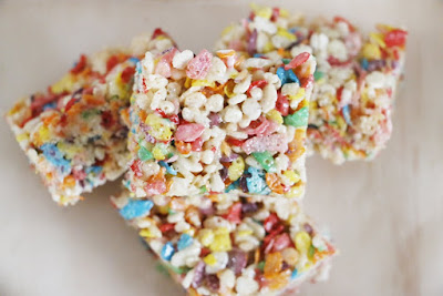 Rainbow Crispy Treats
