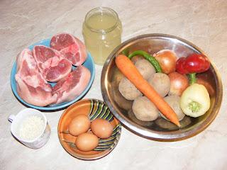 carne si legume pentru ciorba, retete, retete culinare,