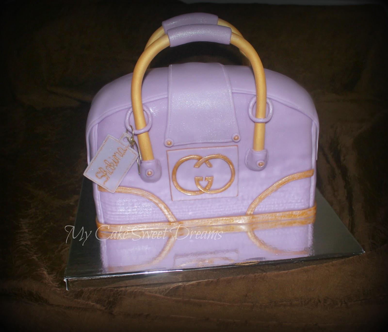 Mycakesweetdreams Gucci Purse Cake
