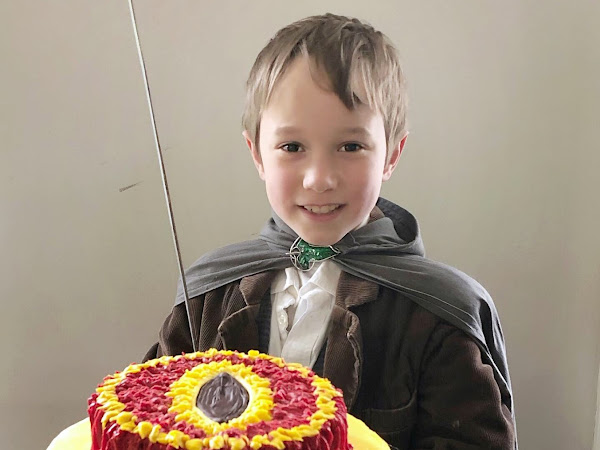 A Long Expected Party :: David's Double Digits and a(nother) Lord of the Rings Birthday