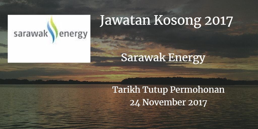 Jawatan Kosong Sarawak Energy 24 November 2017