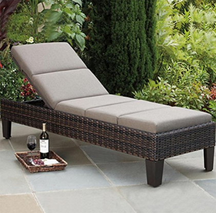 Agio Santa Ana Woven Chaise Lounge Mult - Position Back Rest