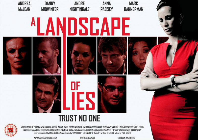 A LANDSCAPE OF LIES poster