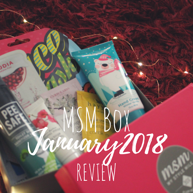 msm box india, best subscription boxes, msm box January 2018 review, monthly subscription boxes, subscription box reviews, January msm box, msm express box, msm box,