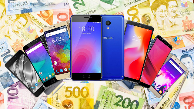 Best Smartphones under Php 5000 Philippines 2018 Q3