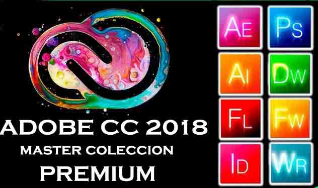 Free Download Adobe CC 2018 Master Collection Full Version