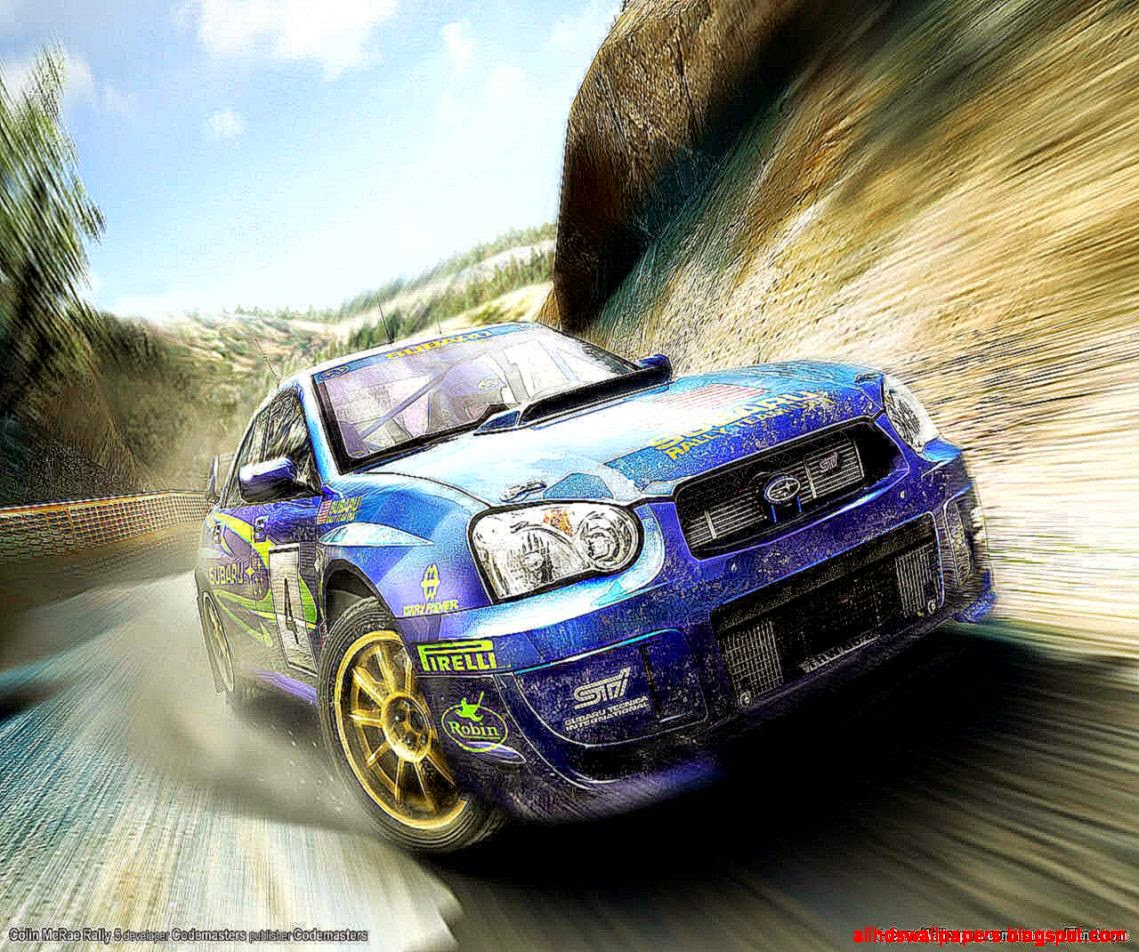 Subaru Car Wallpaper: Rally Subaru Impreza Desktop Background Wallpapers
