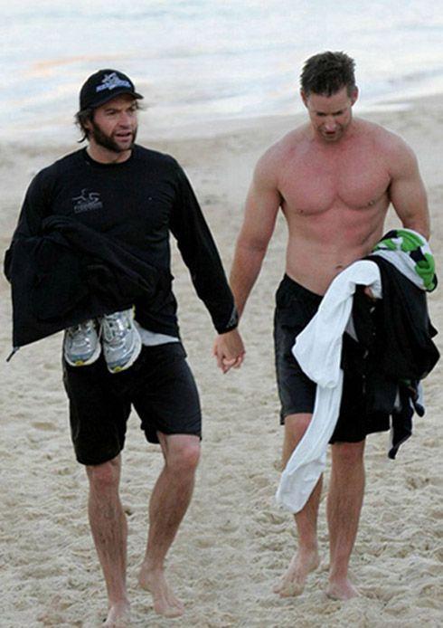 Hugh Jackman Swimming Nude 74
