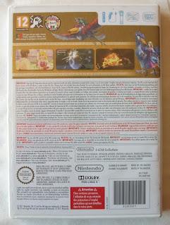 The Legend Of Zelda - Skyward Sword - Caja plástico detrás