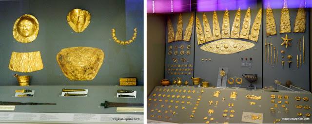 Tesouro de Micenas, Museu Nacional de Arqueologia de Atenas, Grécia