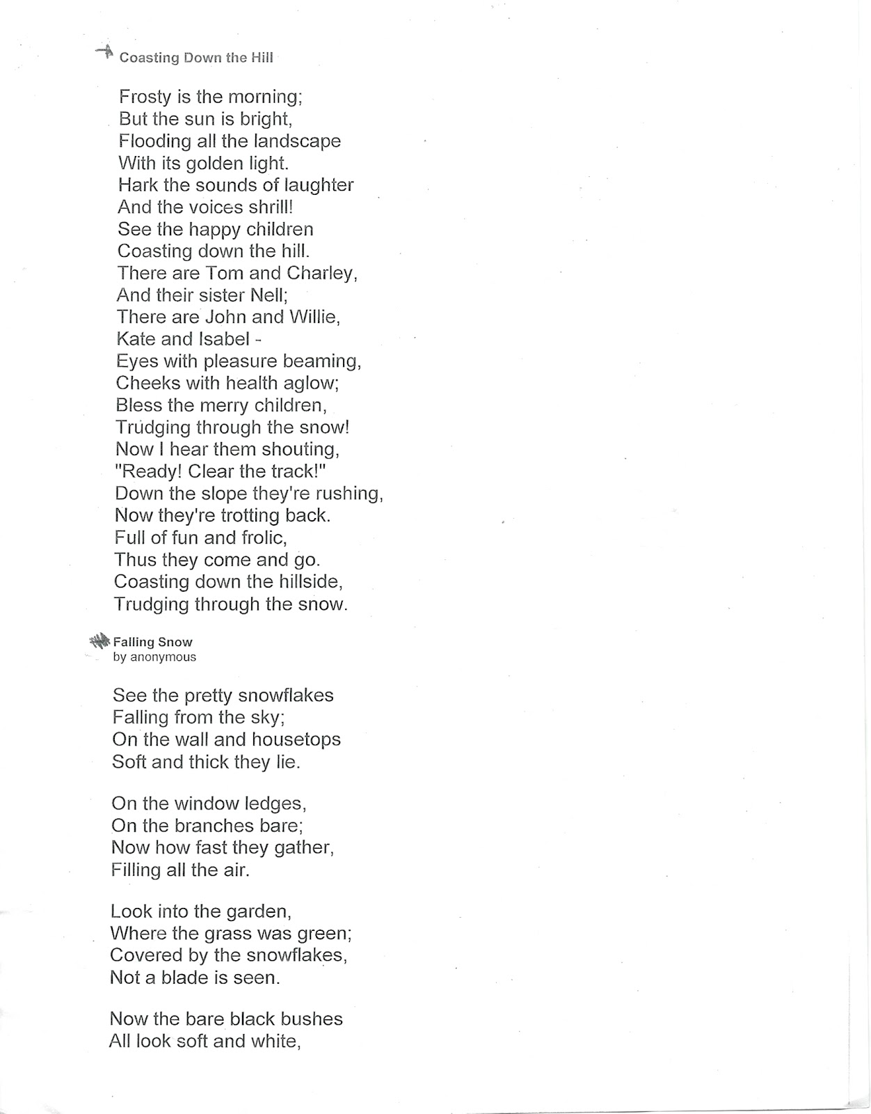funny poems about homework