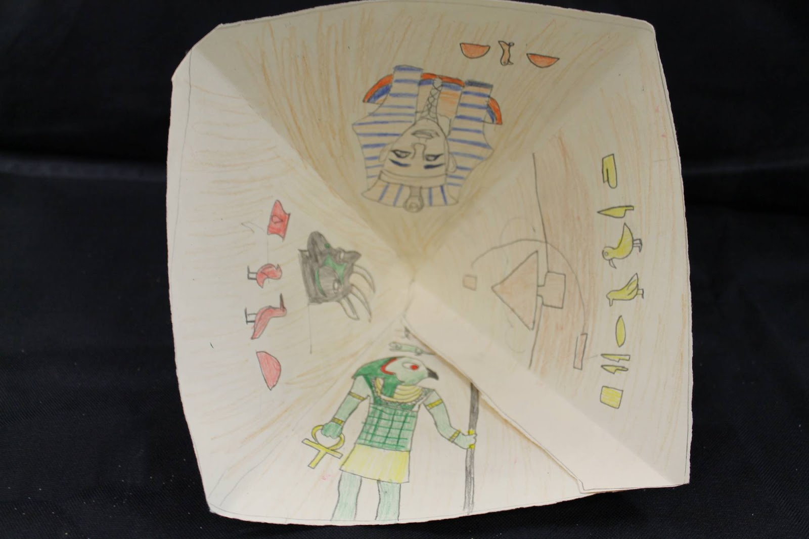 Art Room 104 Egyptian Pyramids