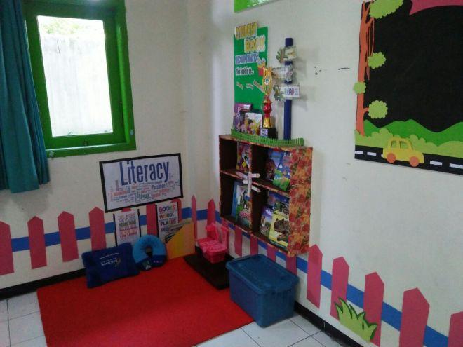 Sudut Baca Kelas Tinta Pendidikan Indonesia