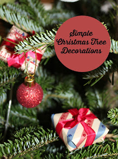 Simple Christmas Tree Decorations