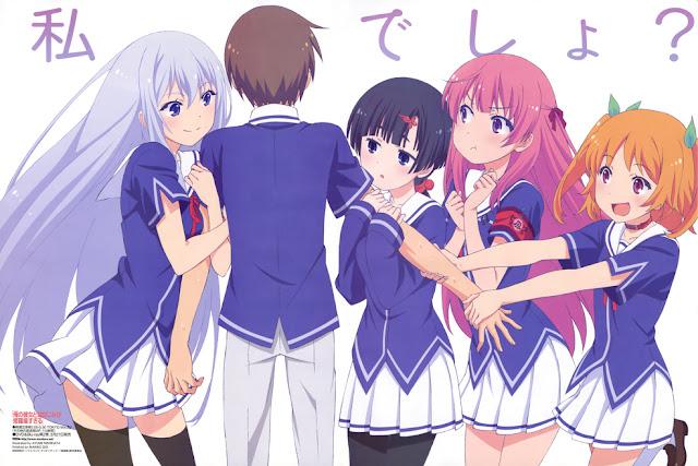 23 30 Rekomendasi Anime Harem Terbaik
