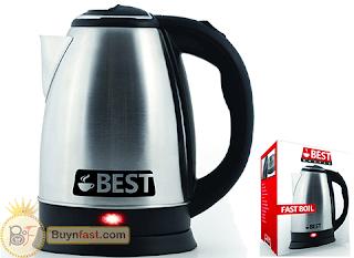 Best Electric Tea Kettle (Snappy Boil Technology)
