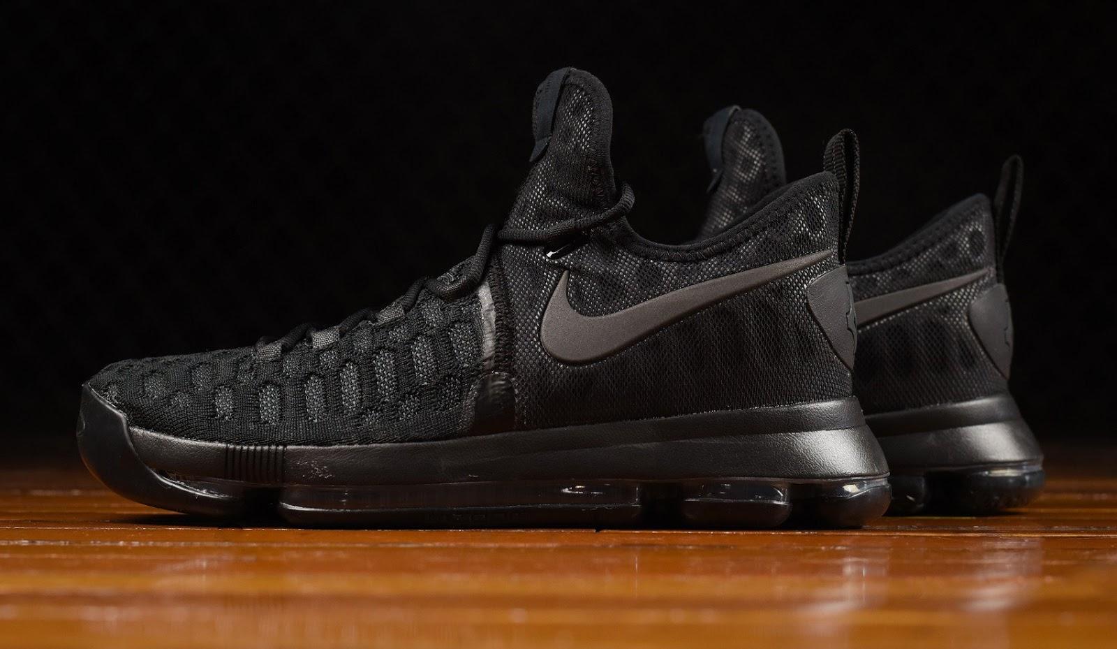 brand new 9b71a 4a187 Nike KD 9  Triple Black